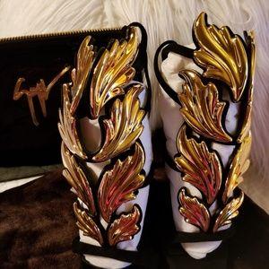 Giuseppe Zanotti Shoes and Purse
